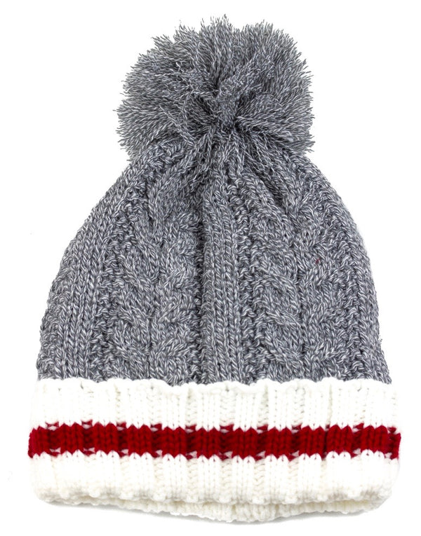True North Cable Pompom Toque