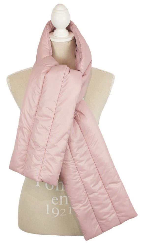 Barbie Puffer Scarf