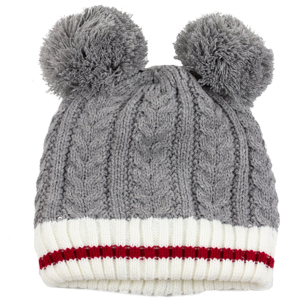 True North Kids Double Pompom Toque