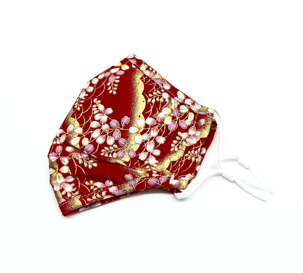 Face Mask - Cherry Floral