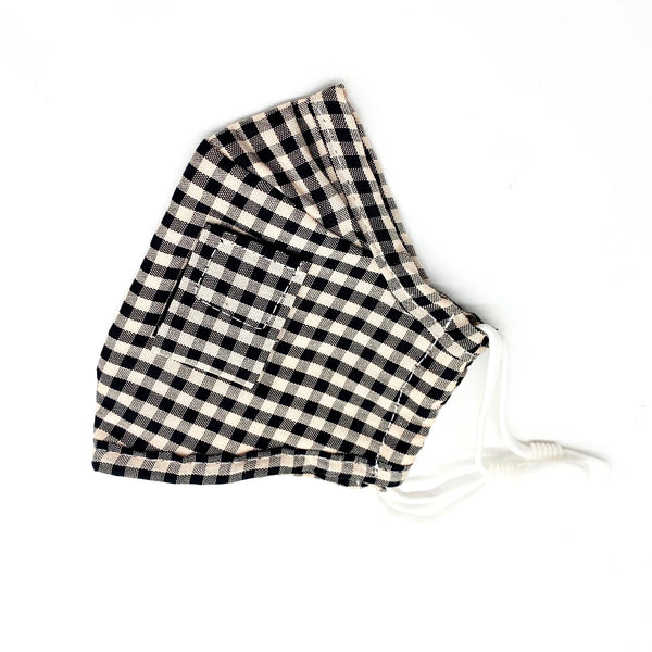 Kids Face Mask - Checkered