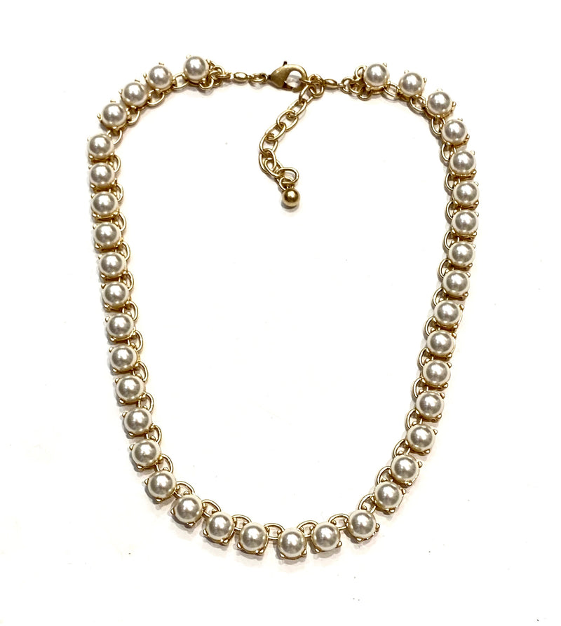 Harmony Necklace - Pearl