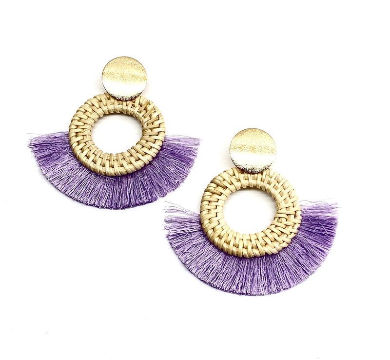 Daphne Earring - Lilac