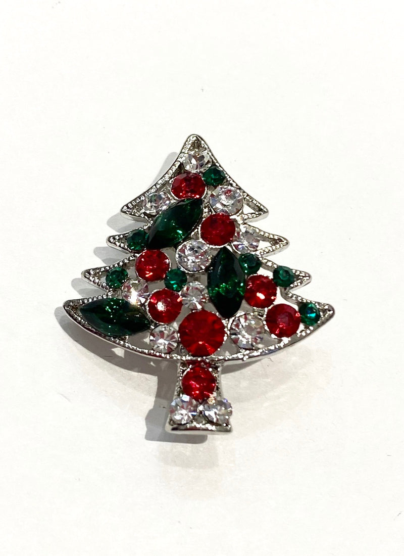 Christmas Brooch - Small Tree