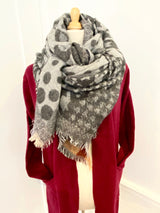 Marilyn Blanket Scarf - Midnight