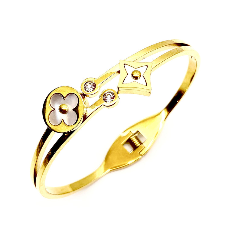 Preston Bangle - Gold