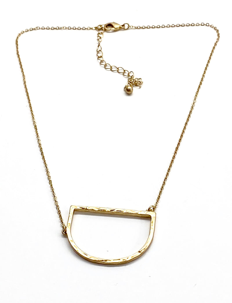 Initial Necklace - Gold