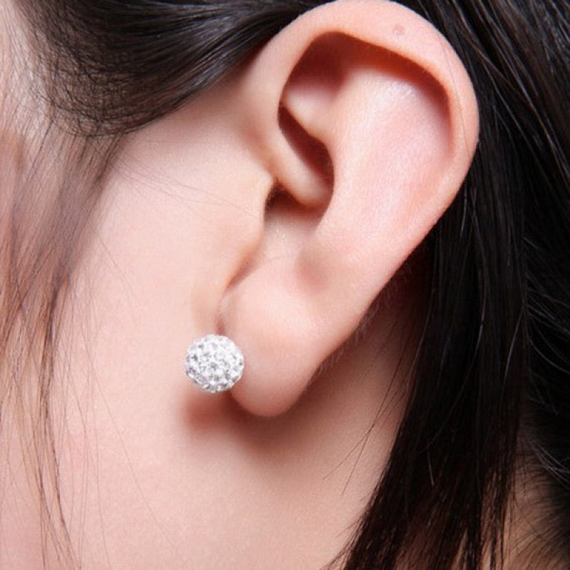 Shamballa Earring - Medium