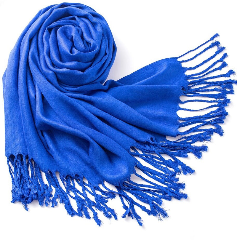 Royal Blue Pashmina