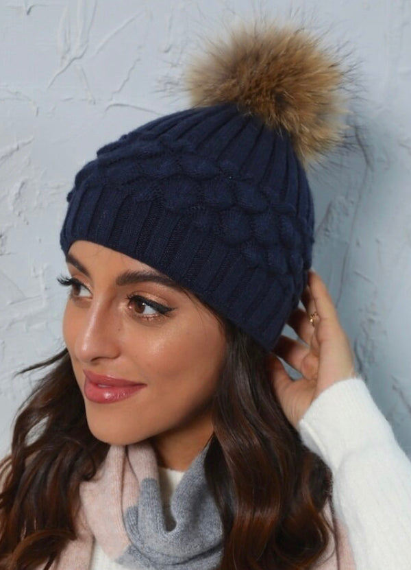 Ellis Pompom Toque