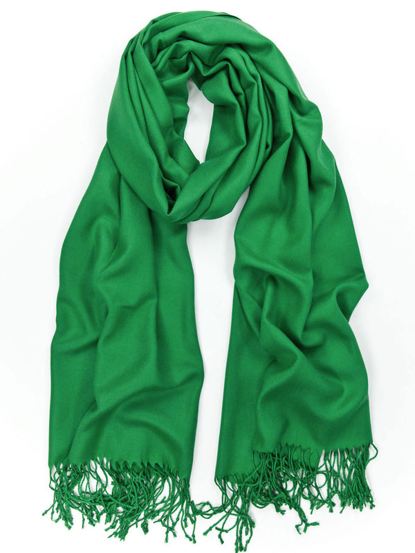 Kelly Green Pashmina