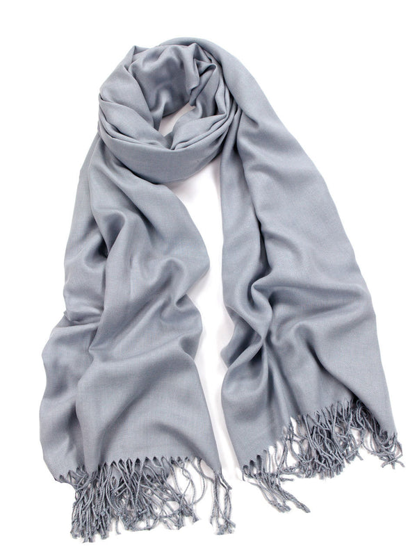 Medium Grey Pashmina