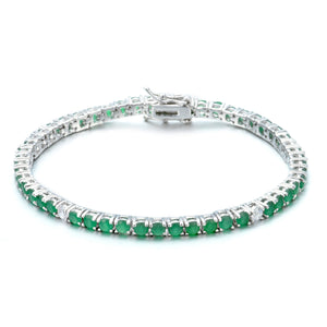 Colored Tennis Bracelet