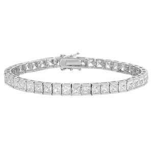 Princess Cut Tennis Bracelet