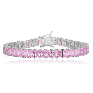 Princess Emerald Tennis Bracelet