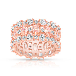 Morganite Plié Ring