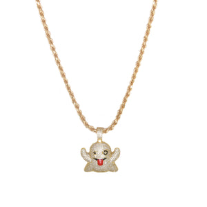 Snapchat Booboo Pendant Necklace