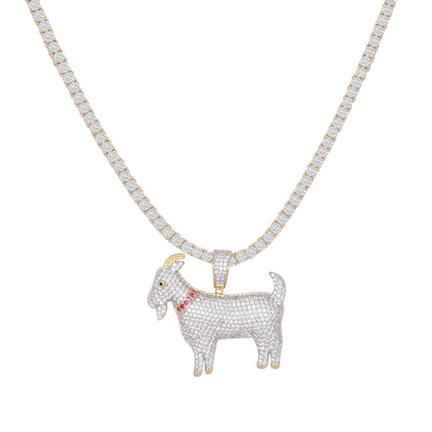G.O.A.T Pendant Necklace