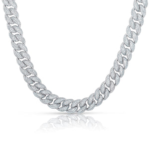 Bubble Cuban Link Necklace