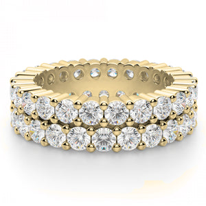 Double Stack Eternity Band