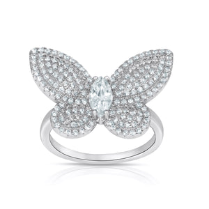 BUTTERFLY MARQUISE RING