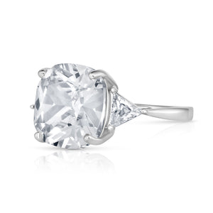 Cushion Cut Stunner Ring