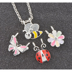 Make Your Own Silver Plated Necklace - Bugs