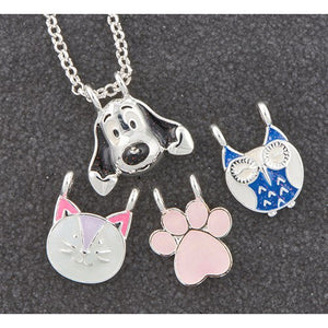 Make Your Own Silver Plated Necklace - Animals