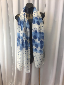 Soft Scarf with Circle Design - Comes In 3 Colours