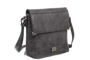 Bessie of London Cross Over Body Bag with Zip Pouch at Back - Comes In 3 Colours
