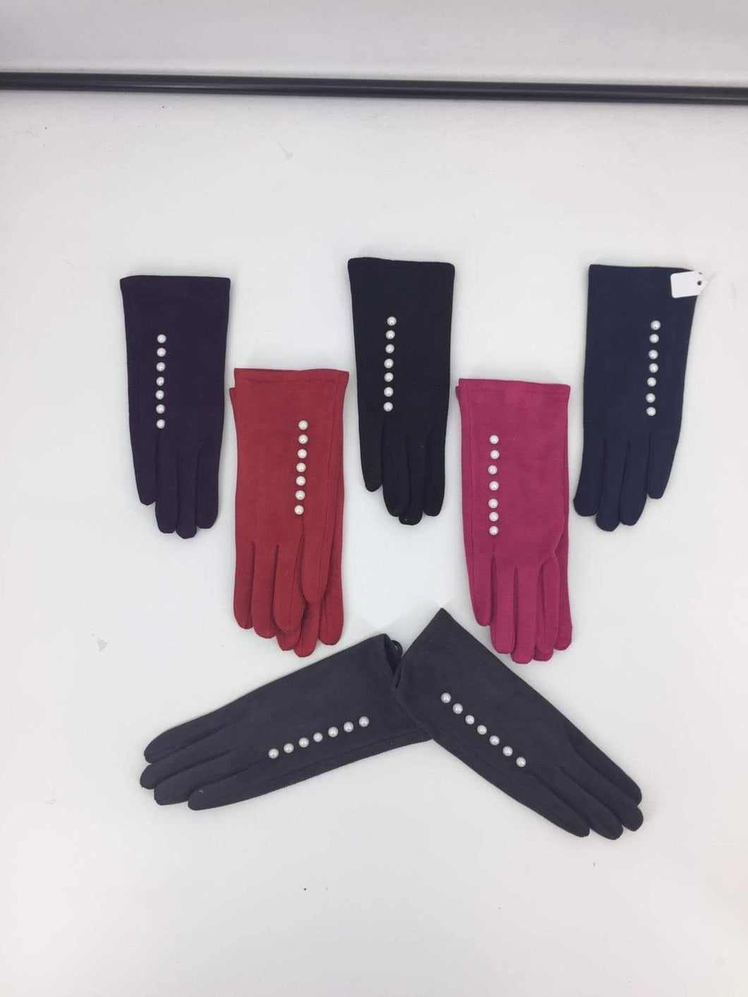 Luxury Boxed Gloves with Buttons In 6 Colours