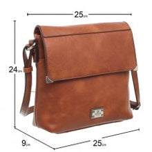 Load image into Gallery viewer, Bessie of London Cross Over Body Bag with Zip Pouch at Back - Comes In 3 Colours