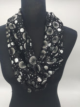Load image into Gallery viewer, Snood Style Scarf with Silver Sparkle Circles - Comes In 4 Colours