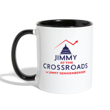 Jimmy Contrasted Mug - white/black