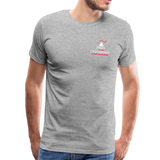 "Men's ""Sengenberger: All E's, All the Time!"" Premium T-Shirt - heather gray"