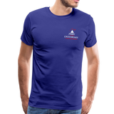 "Men's ""Sengenberger: All E's, All the Time!"" Premium T-Shirt - royal blue"