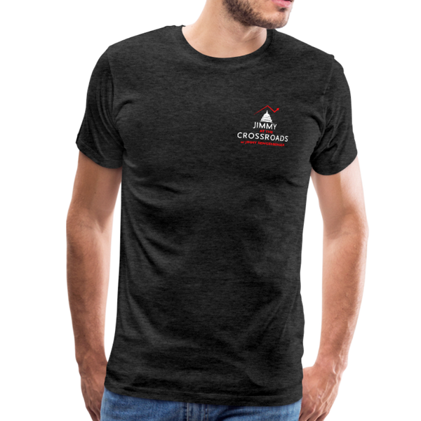 "Men's ""Sengenberger: All E's, All the Time!"" Premium T-Shirt - charcoal gray"