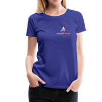 "Women's ""Making Sense of Nonsense"" Premium T-Shirt - royal blue"