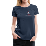 "Women's ""Making Sense of Nonsense"" Premium T-Shirt - navy"