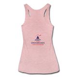 "Women's ""Still Proud"" Tri-Blend Racerback Tank - heather dusty rose"