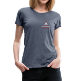 """Nine Most Terrifying Words"" - Women's Premium T-Shirt - heather blue"