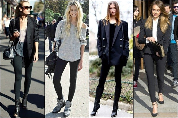 Why black leggings will always be in style