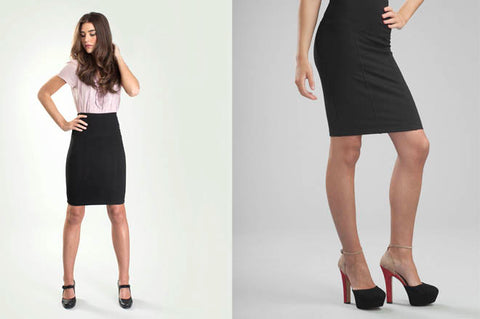Why the shapewear pencil skirt is perfect for work