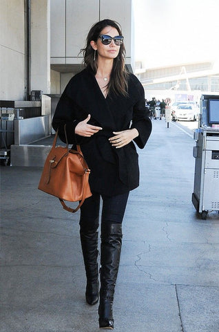 Celebrity leggings look: Lily Aldridge