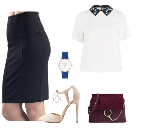 The little black (shapewear) skirt