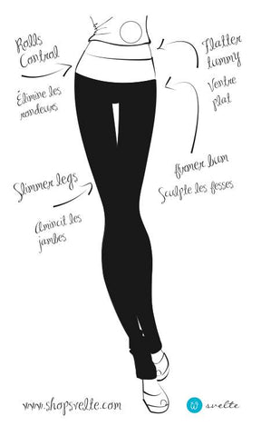 4 ways shapewear leggings are not like regular leggings