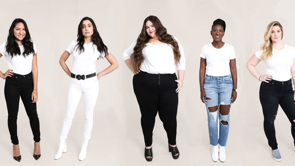 Denim shopping: find the right fit for your body type