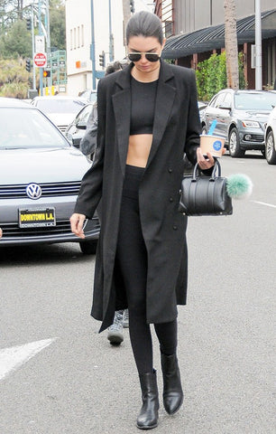 Wear your shapewear leggings like Kendall Jenner