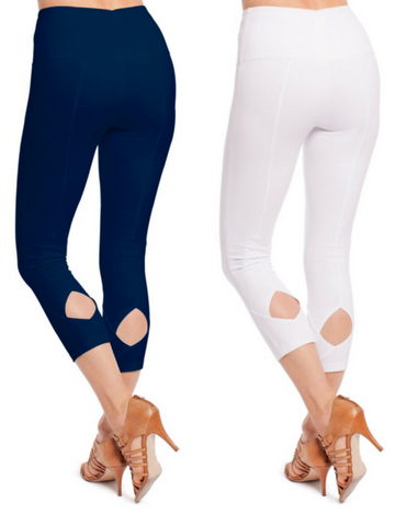 Diamond Cut-out Capri