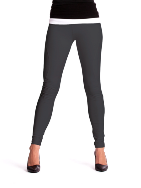 71951ad607b Curved Seam Tight Ankle Leggings – Svelte